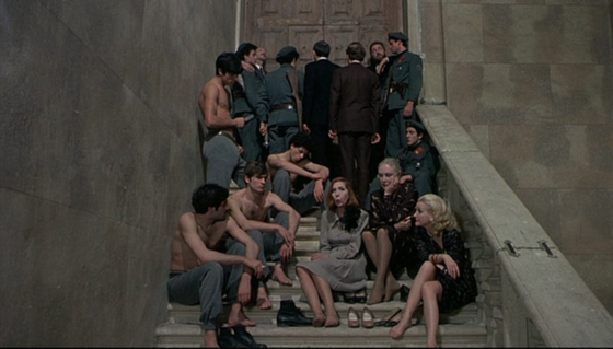 Pasolini's film is set in the short-lived Nazi satellite, the Republic of Salò.