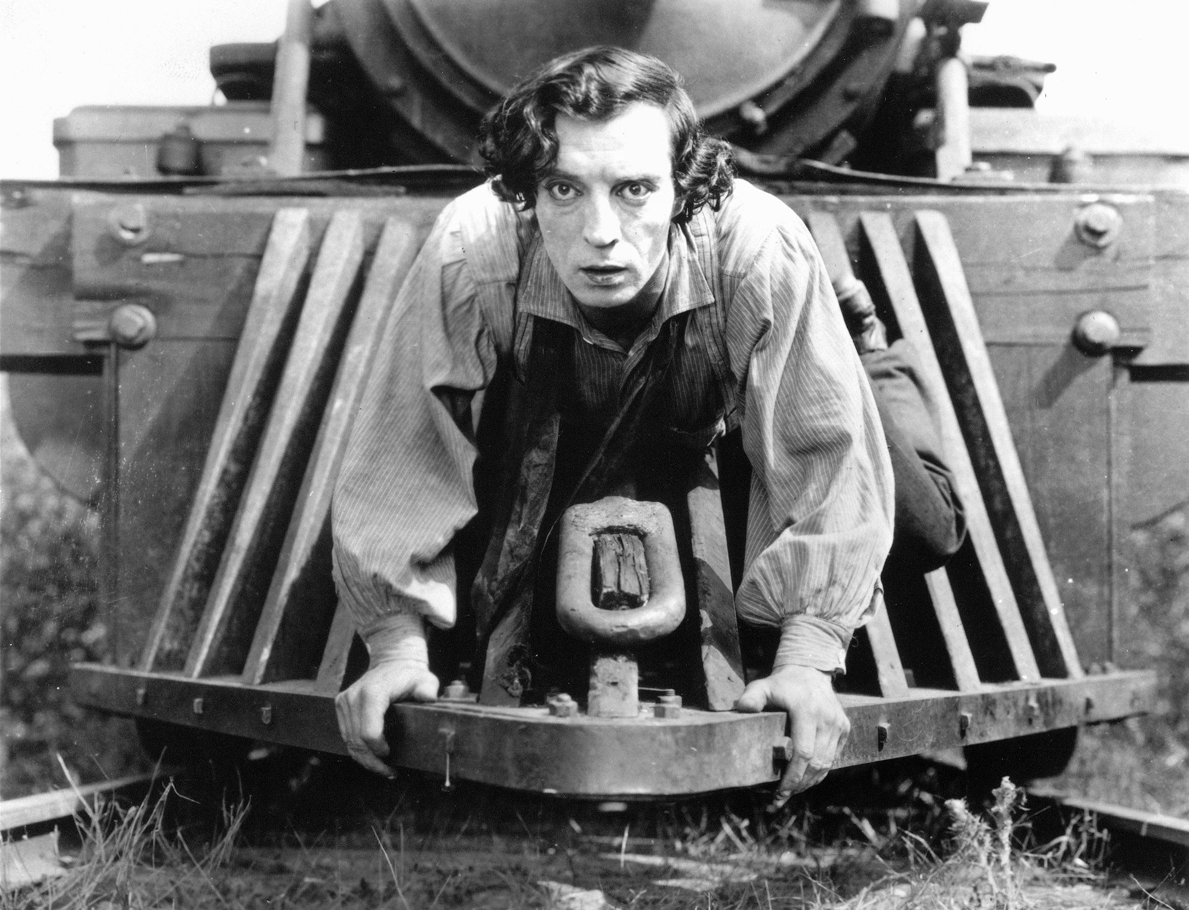 Buster Keaton - The General - Train