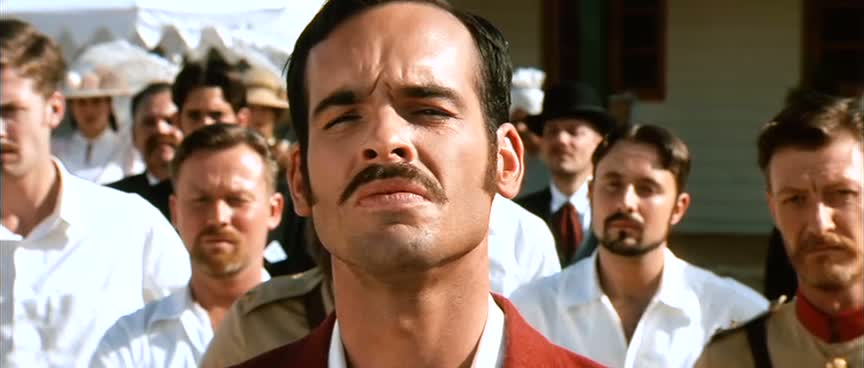 Paul Blackthorne as Captain Andrew Russell in Lagaan