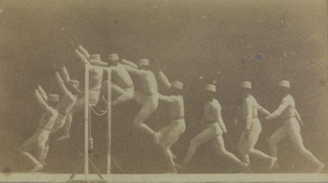 Chronophotograph Hurdle