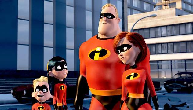 Pixar's The Incredibles