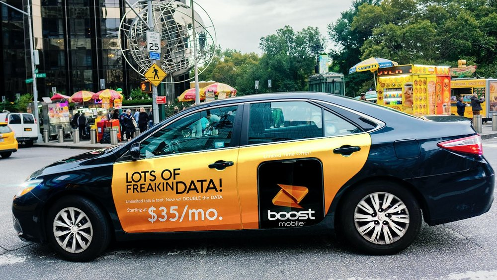 HIGH IMPACT - mobilads delivers optimal exposure for your brand, generating an average 13,500+ daily impressions per car in New York City.