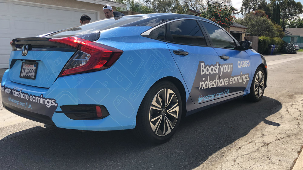GPS ENABLED - Our GPS technology enables clients to view their vehicles in real-time, and our data capabilities allow brands to know who saw the ad, when, and where.