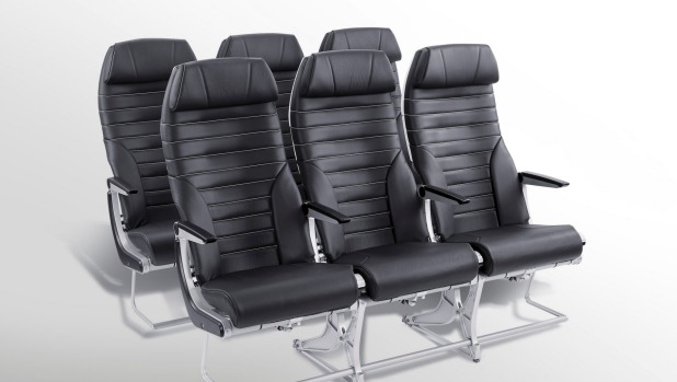 Acro Aircraft Seating, Features Wider 3cm Wider Middle Seats.