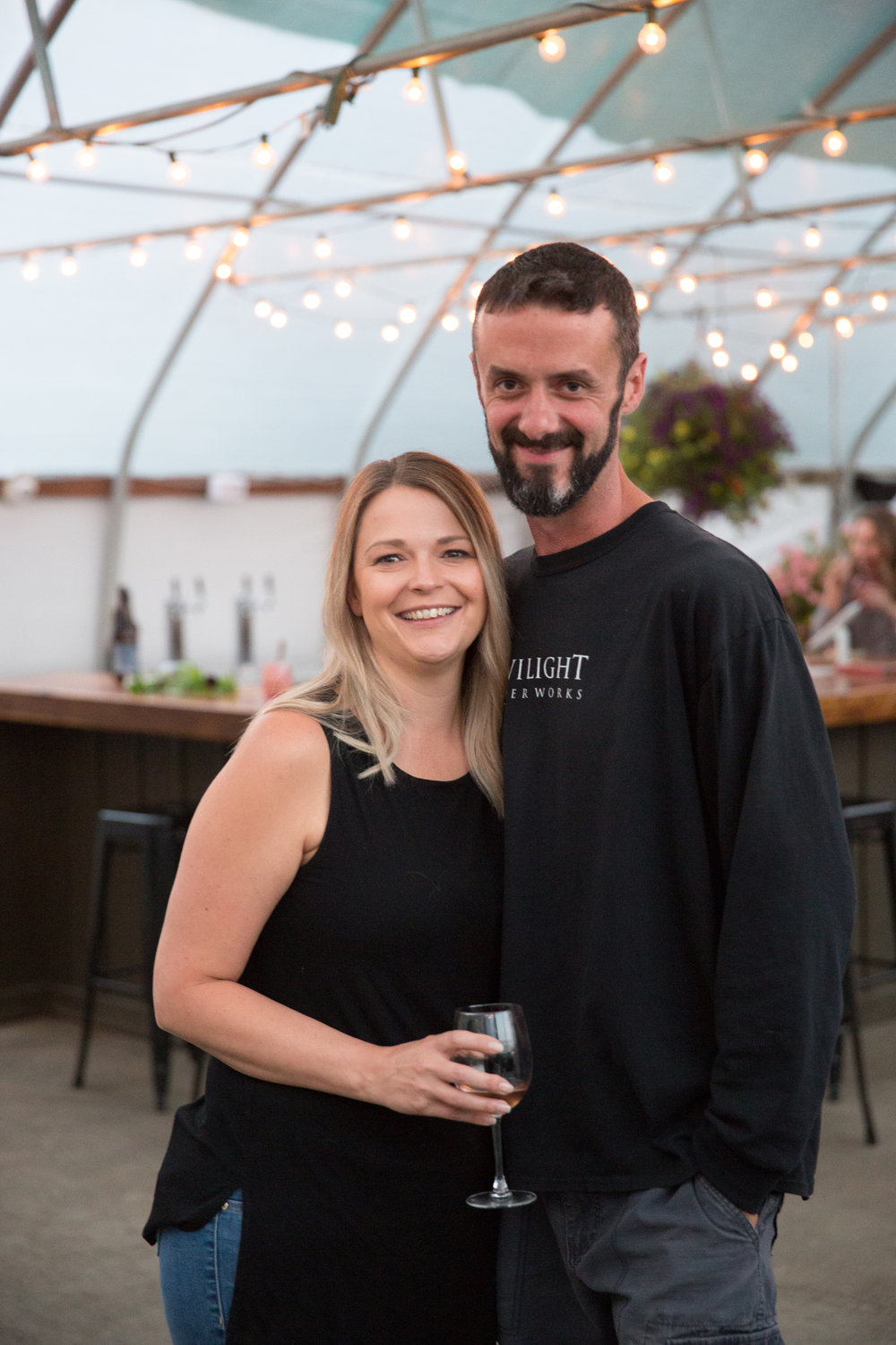 Will and Jackie, owners of Twilight Cider