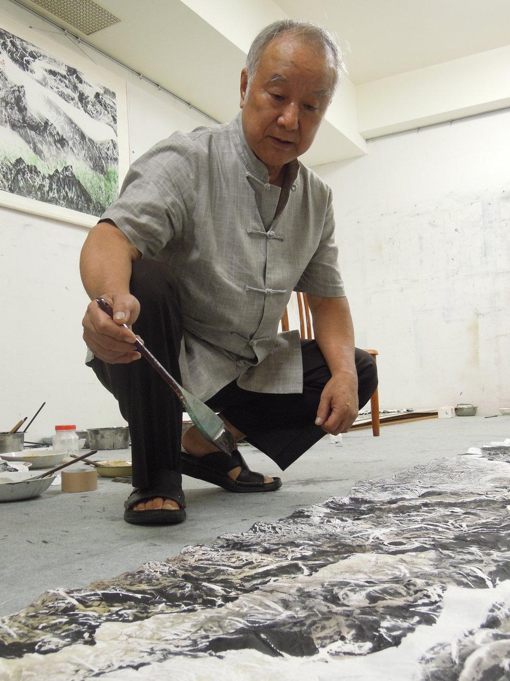 2012 劉國松老師桃園畫室採訪