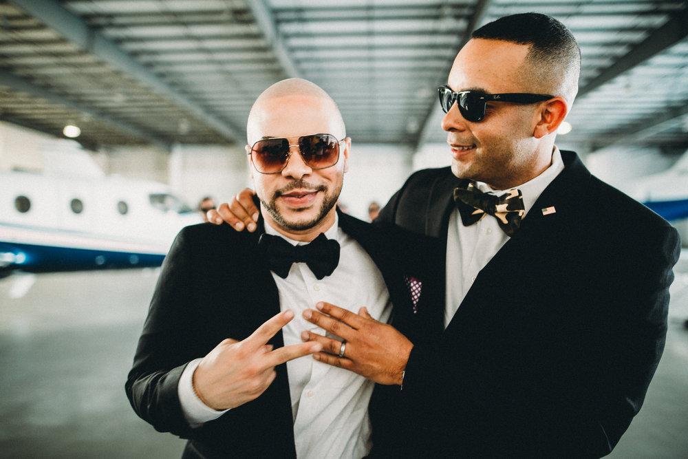 Benny Morel and Yoanis Santana