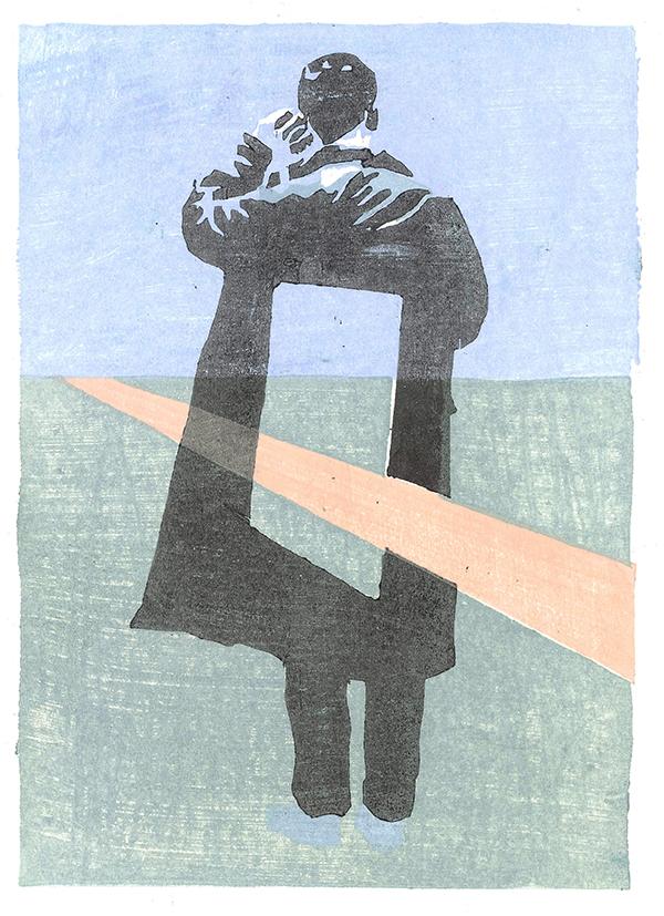Taro  Woodcut / 2015