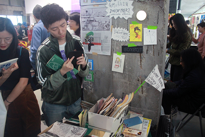 6 / 11 / 2018  Feeling grateful for art book in China for hosting  Zine Coop  and  Queer Reads Library  in Shanghai. More pictures  here  and  here .
