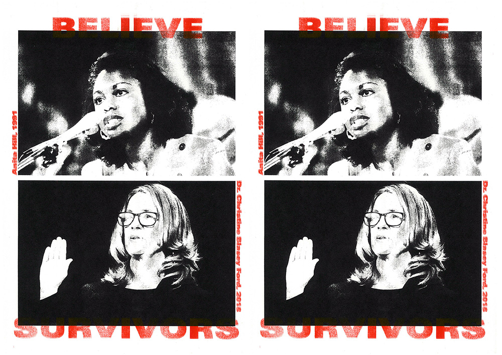 27 / 9 / 2018  Believe survivors. Rape culture is not inevitable.