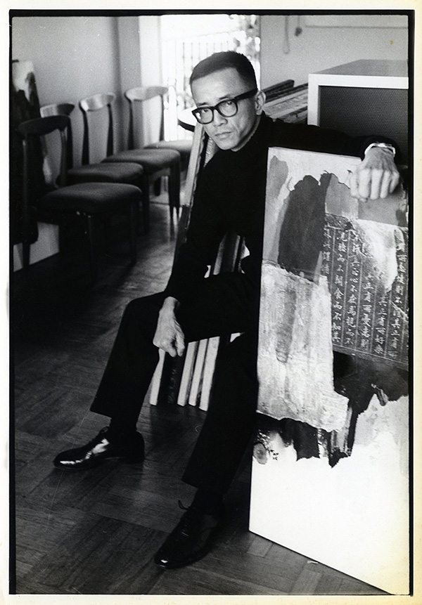 Hon in 1965, courtesy of the artist.