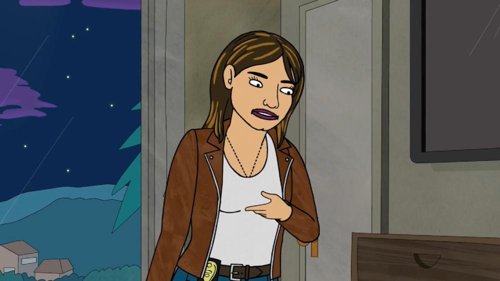 Gina Cazador from  BoJack Horseman .