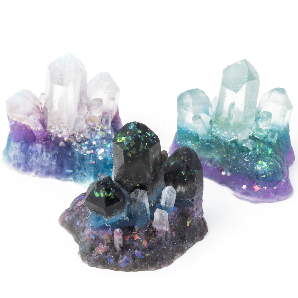 Faux Crystals and Magic Stones