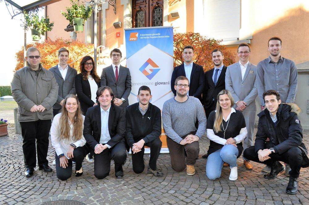 Rinnovo delle cariche interne di Generazione Giovani Ticino