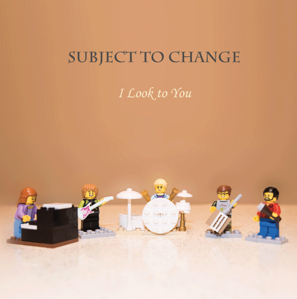 I Look to You CD Cover © 2016 Seth Goslin