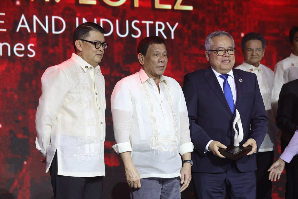 H.E. RAMON M. LOPEZ SECRETARY OF TRADE AND INDUSTRY PHILIPPINES