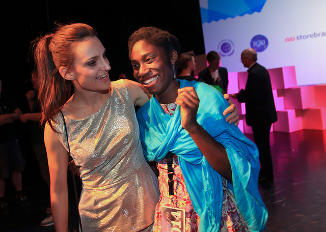 laura with sustainia winner.jpg