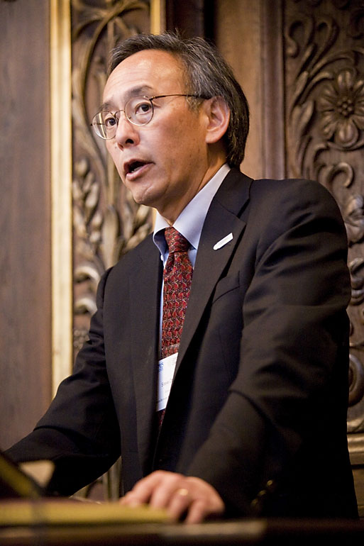 Steve Chu, Member of the CCC until he became the US Secretary of Energy under the Obama Administration