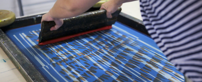 Screen Printing Workshops -