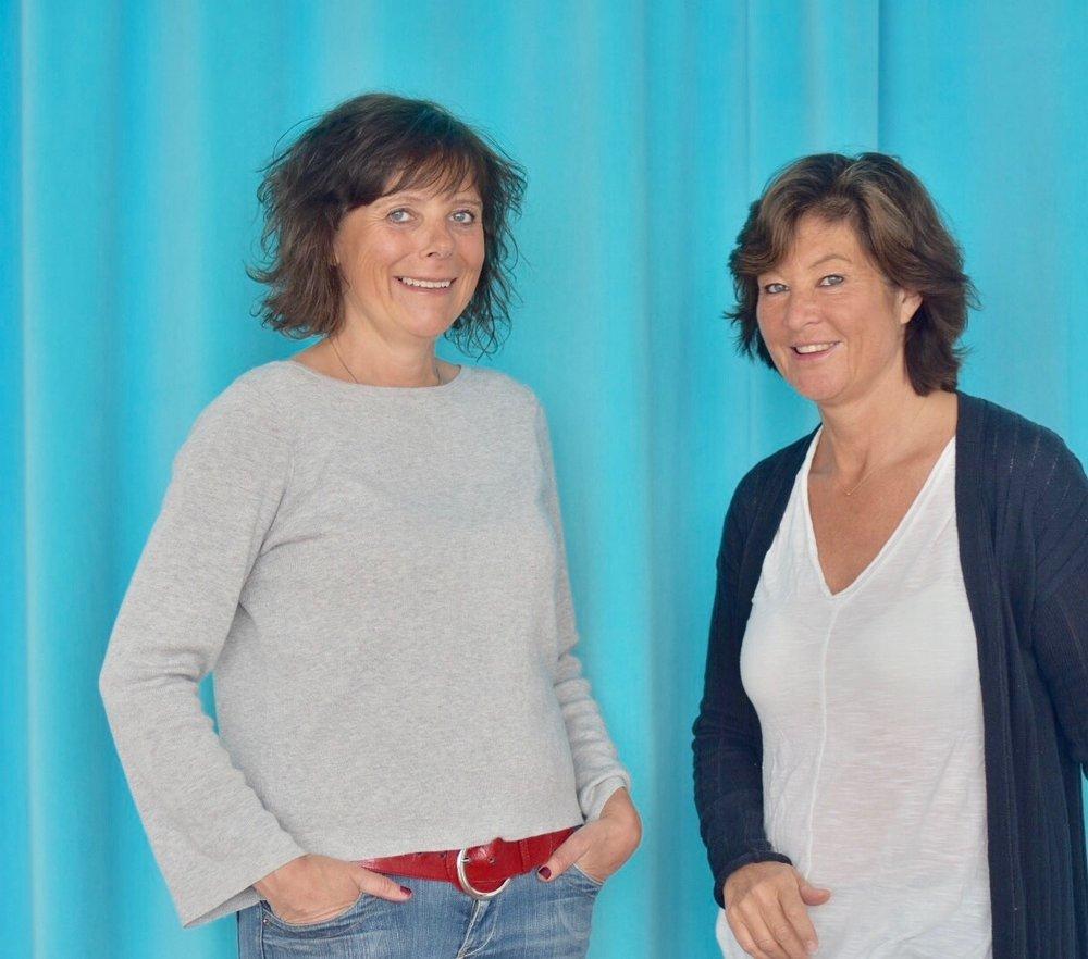 Anna-Karin Lingham och Cristina Tscherning, grundare till Engagemangsmodellen.  Foto: Cristina Tscherning.