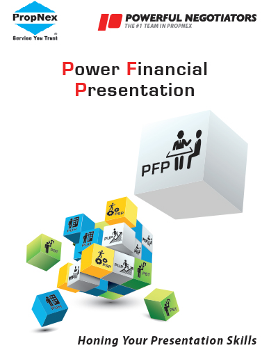 Power Financial Presentation   Power Financial Presentation is the latest training initiative from Powerful Negotiators Group. Our objective will be focus on helping these people to overcome their fear and provide specific case studies for them to practice during the class.