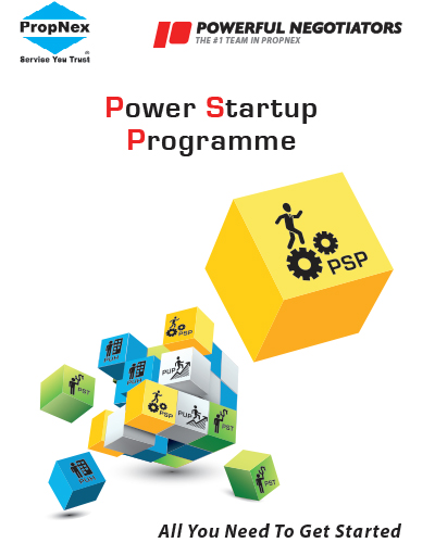"Power Startup Programme   Through this course, you will learn about the team structure such as how the team works, who ""manages"" which district, & our set of SOP. The basic but essential information that will help you to reap the benefits as a member of Powerful Negotiators."