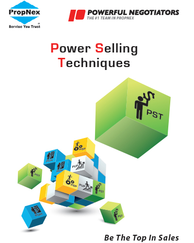 Power Selling Techniques   Enhance your practical skills; train yourself on effective selling techniques, and learn to influence sellers to restructure their assets in today's market conditions. Our Selling Secret Technique course will definitely help you to multiply your income. Don't miss it!