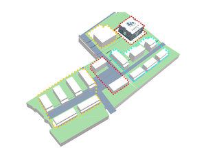 Axonometric View of Site