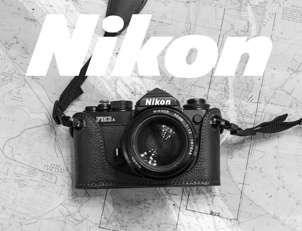 5 FRAMES WITH THE NIKON FM3A & NIKKOR 50mm 1.2 AIS