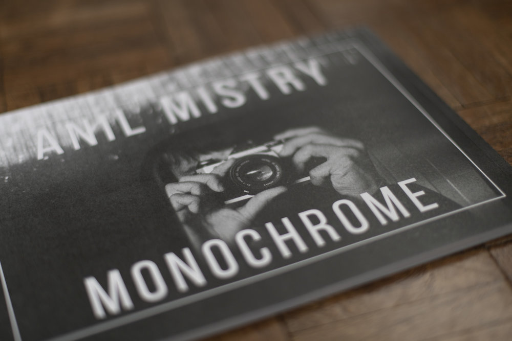 MONOCHROME  is a limited edition of 50 books featuring selected Black and white film photography.  UK Price £12 including postage, Europe & International £15 including postage. To order a copy,  click on the email icon .