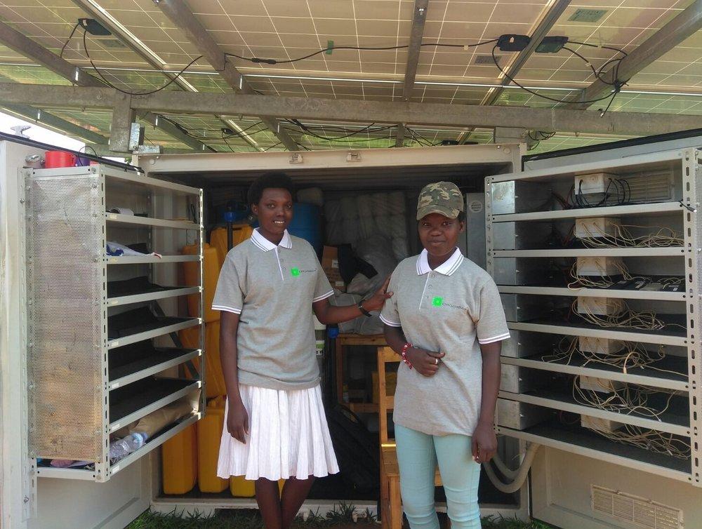 Rwandan box keepers