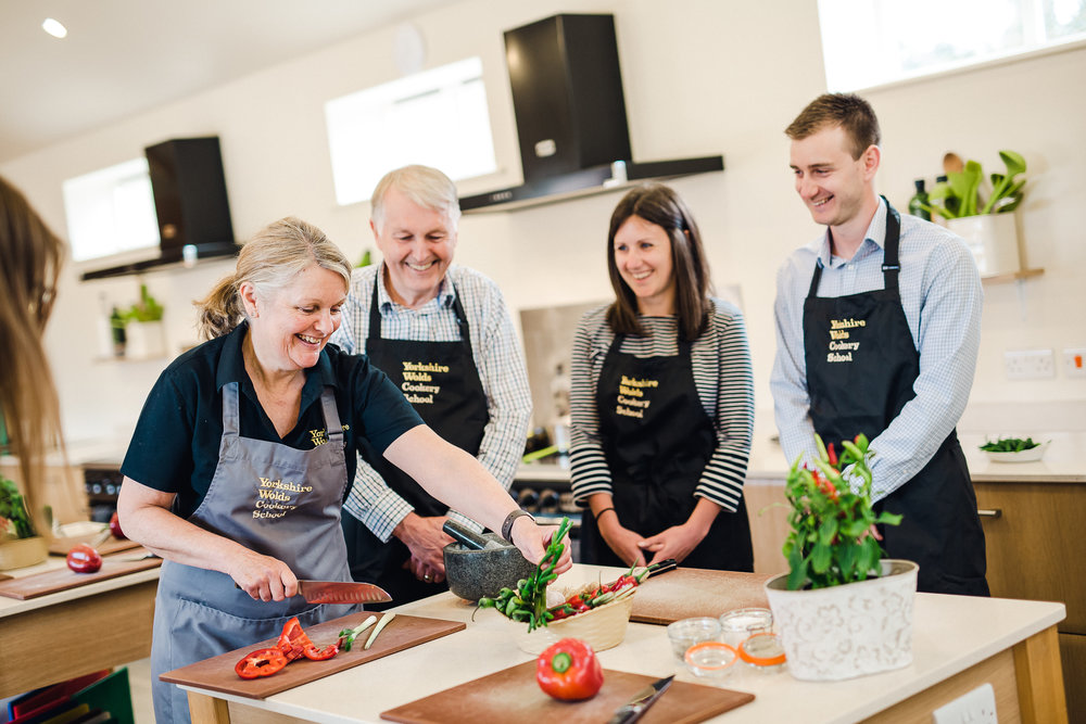 The Yorkshire Wolds Cookery School - Highfield Farm is also home to the award winning Yorkshire Wolds Cookery School. Why not combine your stay with a cookery class!VISIT THE COOKERY SCHOOL >