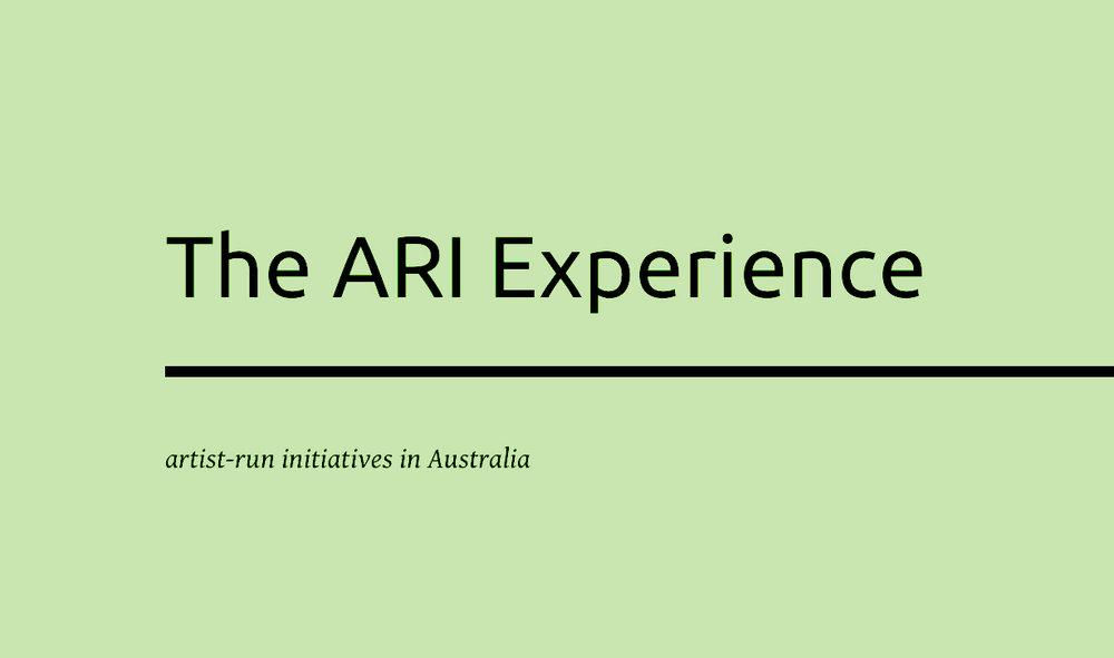 The ARI Experience (Maria Miranda)