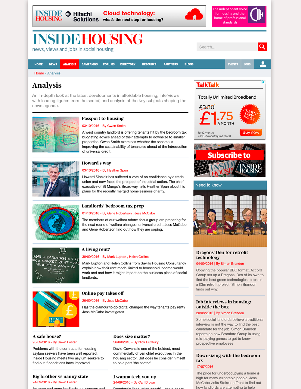 Topic page update showing updated styling.