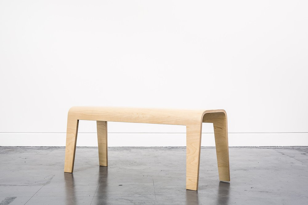 Curved Bench (£375)