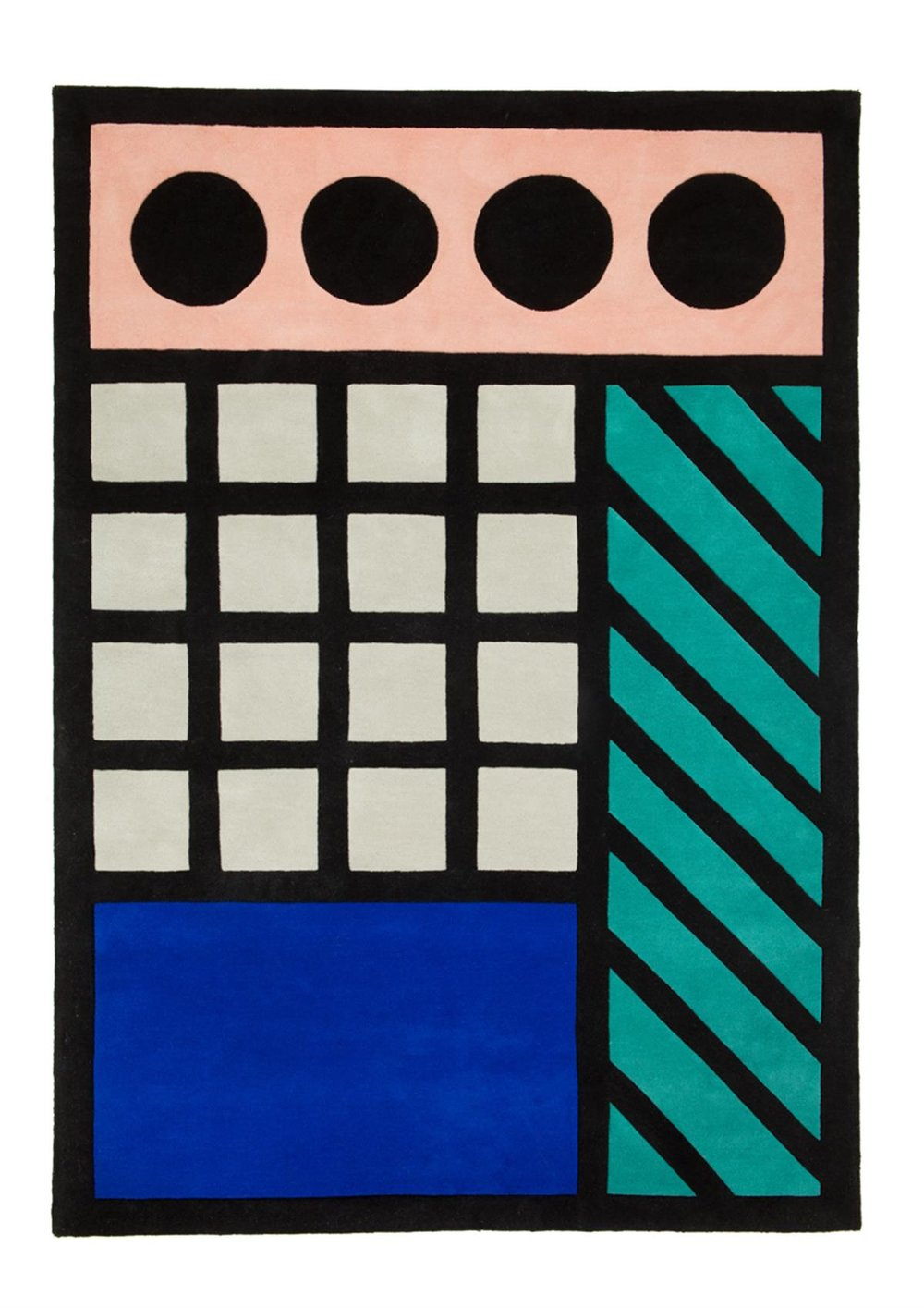 Aria Rug  by Camille Walala at A Floor Story, £900