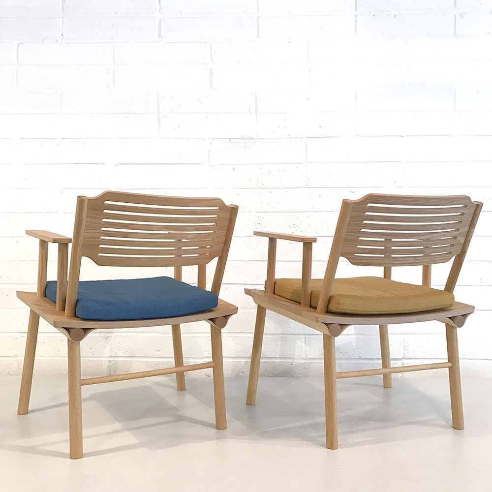 Lozi's modern lounge chair, the Rio Chair, made from plywood