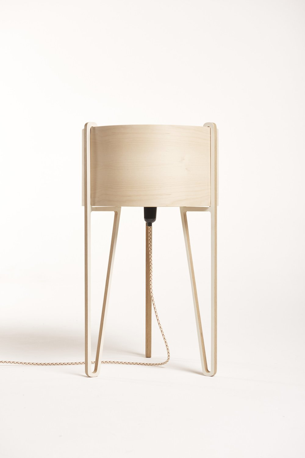 The sunset's sister design, a standing floor lamp now discontinued.