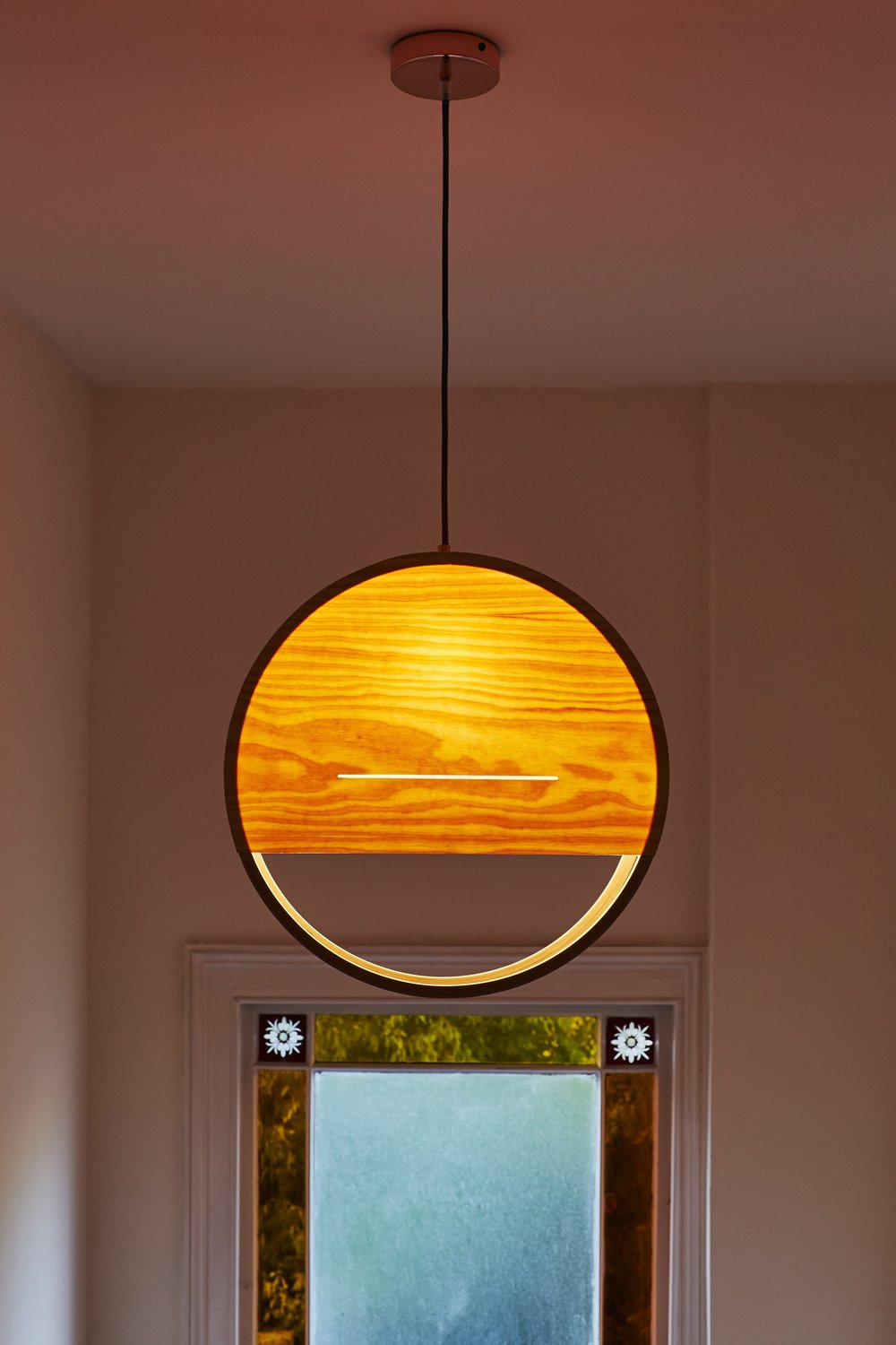 Lozi's Sunset Lamp in a client's home