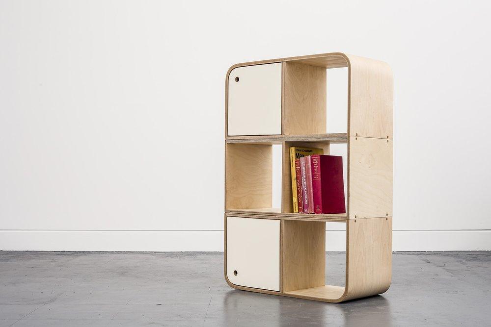 Lozi's versatile plywood modular storage