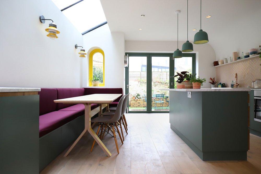 Valetta Road Kitchen, a bespoke plywood design by Lozi