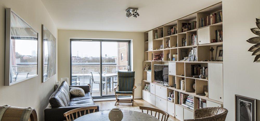 Svett's beautiful flat.
