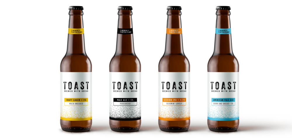 Toast Ale's award winning range of beers and ales.