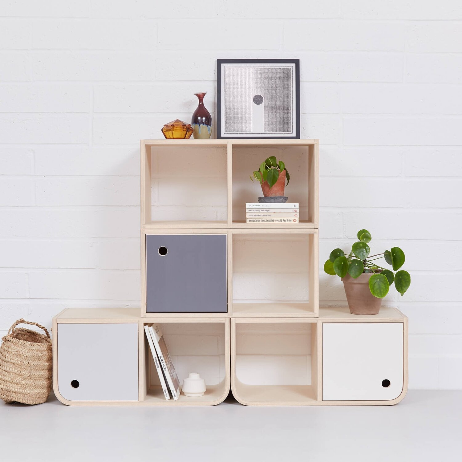Lozi bespoke plywood furniture modular storage