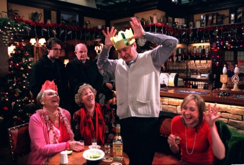 More tea vicar? Looks like you've had enough of the hard stuff!