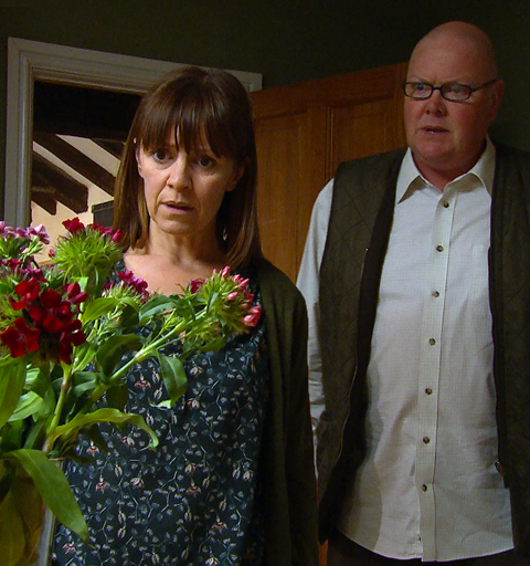 Rhona reveals the shocking truth about her wedding night but what's behind her erratic behaviour?