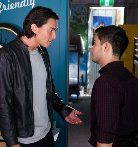 What is set to wreck Leo and David's relationship for ever?