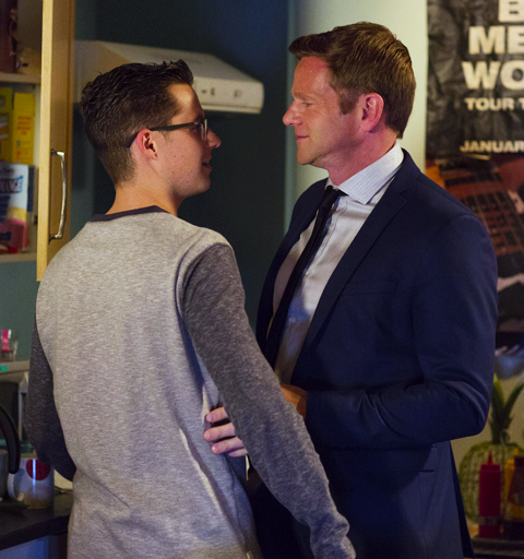 Ben faces a dilemma when Kathy reveals she was raped by his boyfriend's dad!