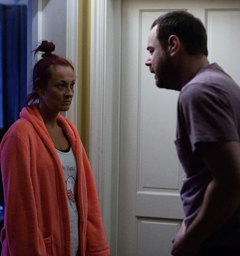 Mick overhears Tina's confession…
