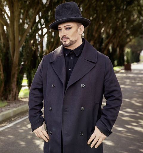 The Culture Club star discovers his colourful past…